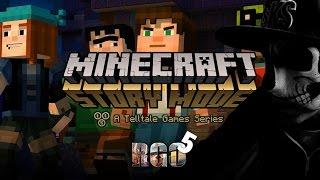 'RAPGAMEOBZOR 5' — Minecraft: Story Mode