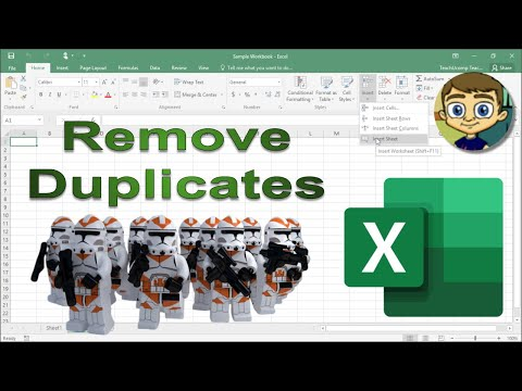 Remove Duplicates Tool in Excel PLUS July 2018 Patreon Kudos