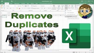 Remove Duplicates Tool in Excel PLUS July 2018 Patreon Kudos