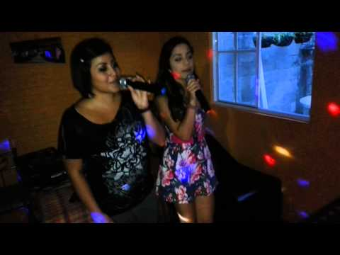Las co animadoras de #fusion karaoke