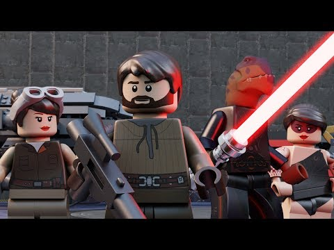 Lego Star Wars Jedi Outcast - episode 1
