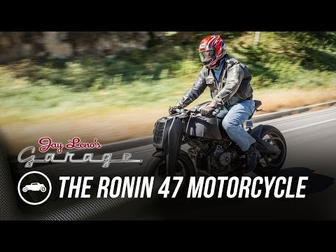 Ronin 47 motorcycles ride by Jay Leno's Garage