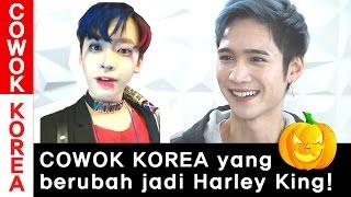 COWOK KOREA yang berubah jadi Harley Quinn! ep.2 l Edward Avila l Korea Vlog l COWOK KOREA
