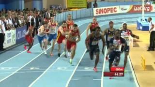 4х400м Финал Мужчины - ЧМ в помещении Стамбул