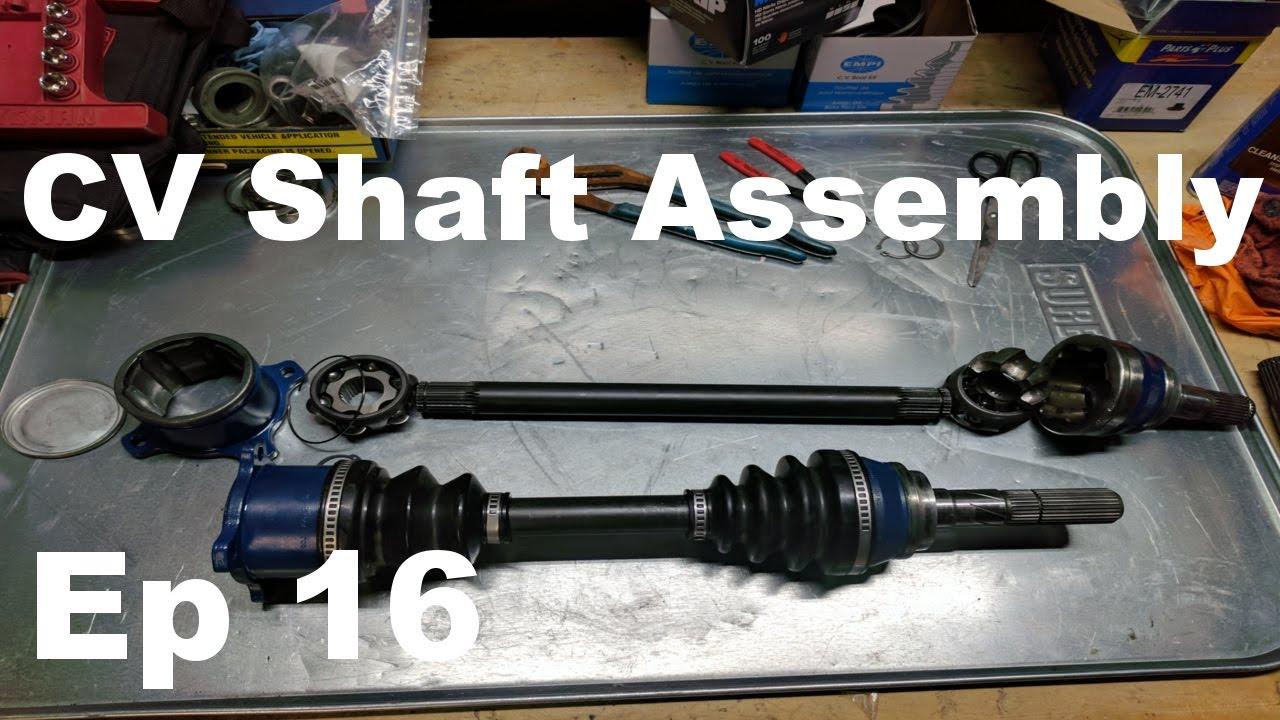 Datsun 240z Build - Episode 16 - Z31 Turbo CV Shafts Rebuild Assembly -  Panchos Garage