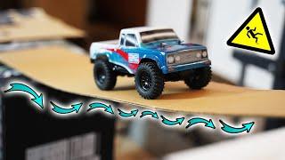 Hardcore CRAWLER PARK mit instabiler BRÜCKE! - Schafft das der neue 60€ MINI RC Truck?