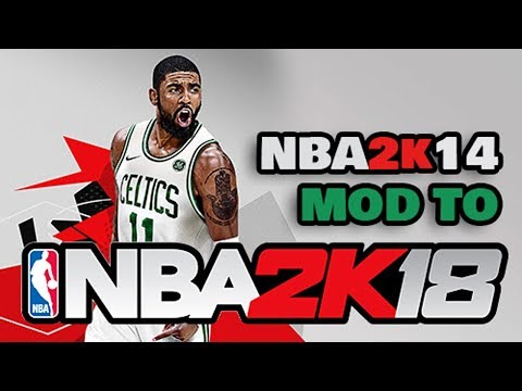 NBA 2k14 MOD TO NBA 2k18 Android Gameplay + Download LINKS APK + OBB