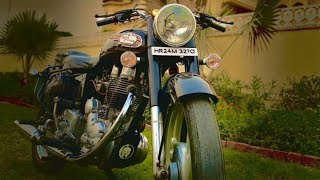 (part 283)Bullet Modified 350 standard and classic!Modified bullet in Punjab !!