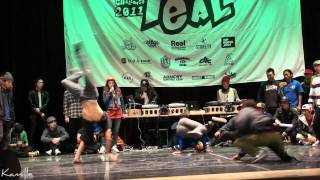 Final BBOYCHALLENGE VOL.10 - Drifterz Crew VS Rivers Crew