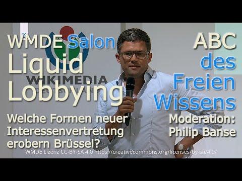 WMDE-Salon: ABC des Freien Wissens, L=Liquid Lobbying