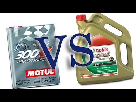 castrol edge titanium fst 5w30 vs motul 300v power racing 5w30 cold engine oil test 24 c youtube. Black Bedroom Furniture Sets. Home Design Ideas