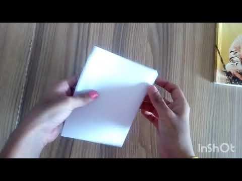 How to convert A4 Size paper into A5, A6, A7, A8   Richa Mehta   Magic world