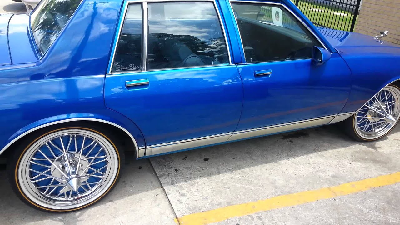 Kandy Blue Box Chevy On Swangas Youtube