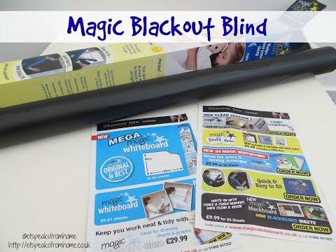 Magic Blackout Blind review