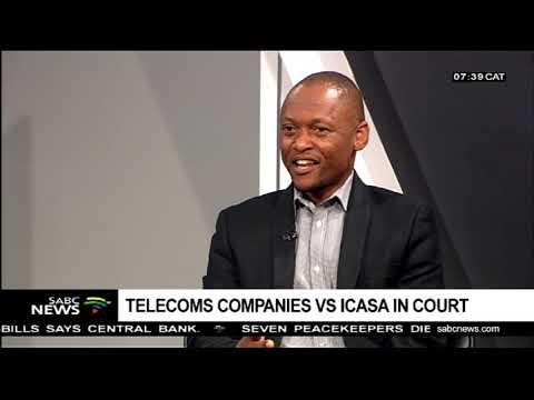 Telecoms Companies Vs ICASA In Court