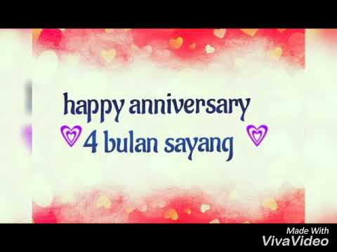 Happy Anniversary 4 Bulan Eneng 08 07 2018 Youtube