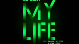 My Life - 50 Cent featuring Eminem, Jay Godz & Adam Levine - Remix