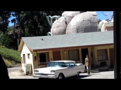 Bates Motel & Psycho House Universal Studios Hollywood Studio Tour Universal City California