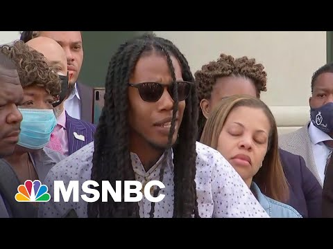 Andrew Brown Jr.'s Son Says His Father Was 'Executed'   MSNBC