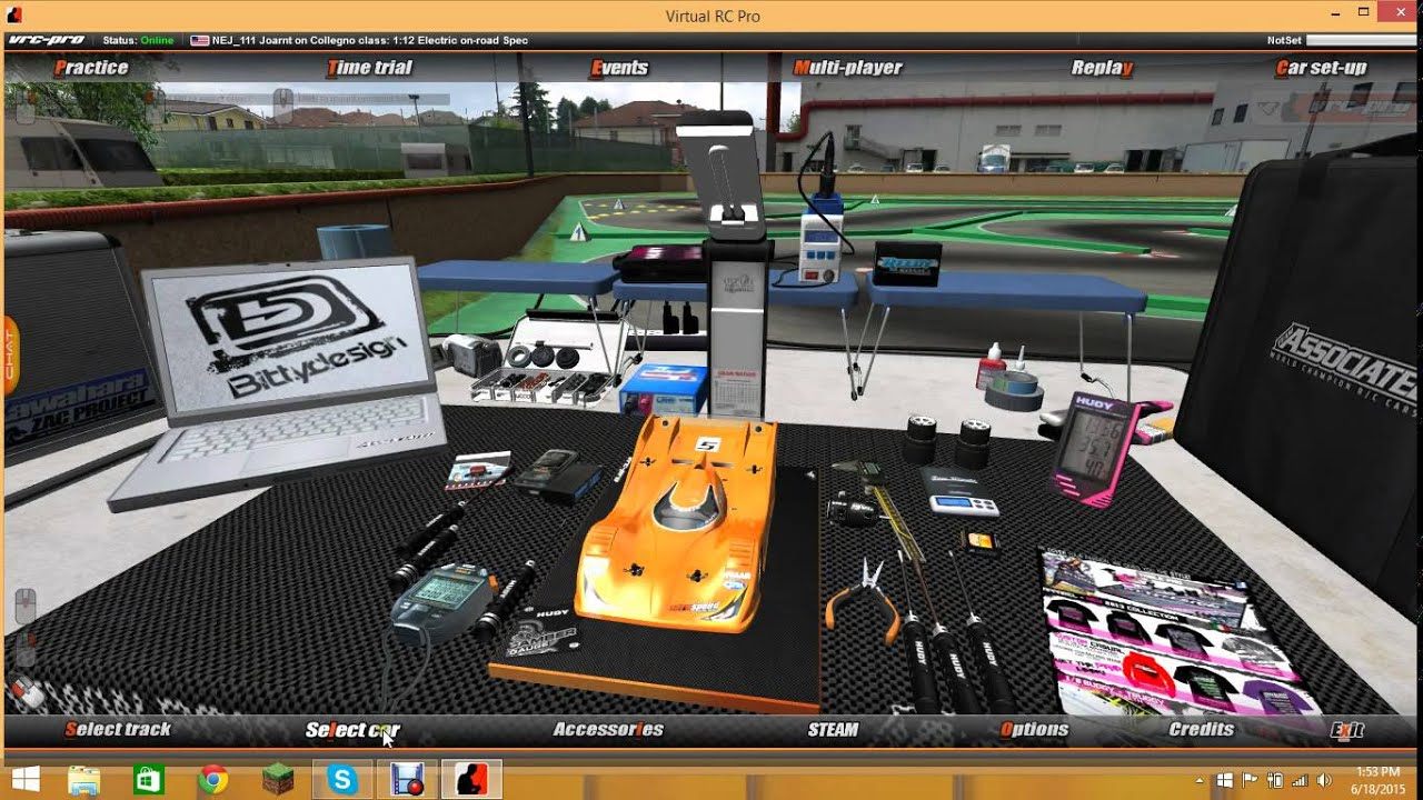 Vrc Pro Rc Racing Game Pc With Napztv Youtube