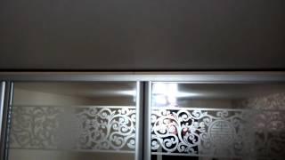Натяжной потолок + вентиляция(Вентиляция где-то соединена с пространством над натяжным потолком. Результат на видео., 2016-02-07T21:34:32.000Z)