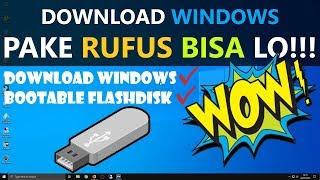 Download lagu ✔ TUTORIAL RUFUS : Download dan Buat Installer Windows [HD]
