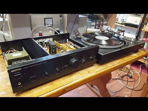 Kenwood KA-4010 Stereo Amplifier Repairs