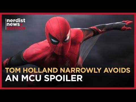 SPIDER-MAN's Tom Holland, Zendaya, And Jacob Batalon Talk FAR FROM HOME (Nerdist News Edition)