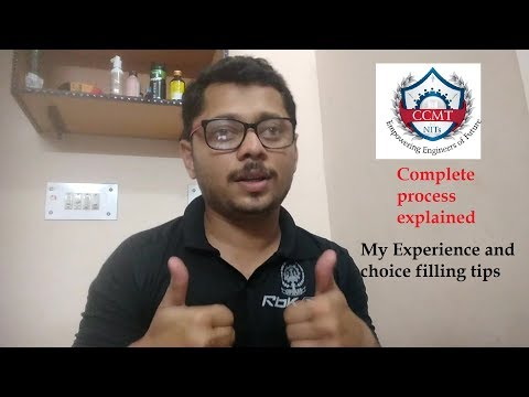 CCMT Counselling Completely Explained|My Experience|CCMT choice filling tips