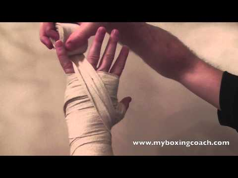 Wrapping Your Hands for Boxing