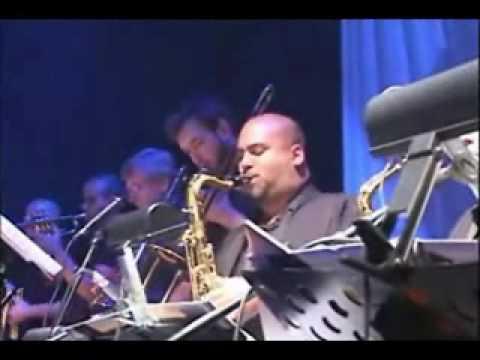 Luis Espindola Jazz Band, Troy Roberts Tenor Sax Solo & Tutti