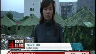 News on Mercy: Relief Efforts in Quake-hit Lushan County