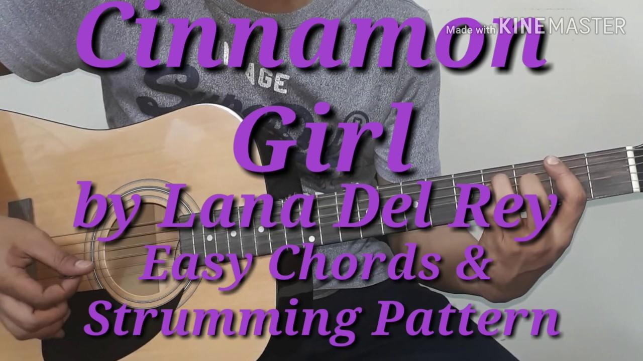 Cinnamon Girl   Lana Del Rey Easy Guitar Chords & Strumming   Guitar Chords   Guitar Tutorial