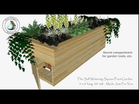 Self Watering Square Foot Garden You