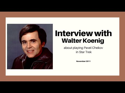 Walter Koenig interview: Star Trek