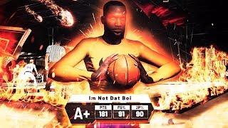 I SCORED 181 POINTS for DOUBLE REP in JORDAN REC CENTER in NBA2K19 thumbnail