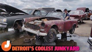 Exploring Detroit's Coolest Junkyard with David Tracy and Kristen Lee   Jalopnik