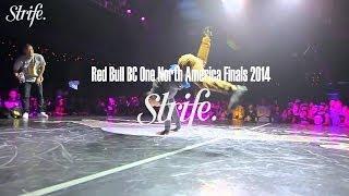 Toyz vs Tony TBagz | Red Bull BC ONE North America 2014 | Strife.TV