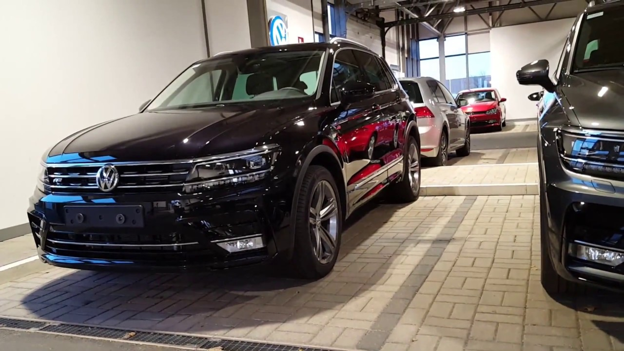 tiguan 2017 exterior view r line 2 0 tsi 220 2 0 tdi 240 4motion youtube. Black Bedroom Furniture Sets. Home Design Ideas