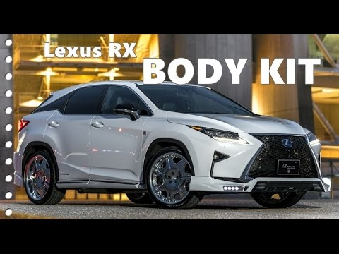 Lexus RX Body Kit (F-Sport) by Rowen Japan - YouTube
