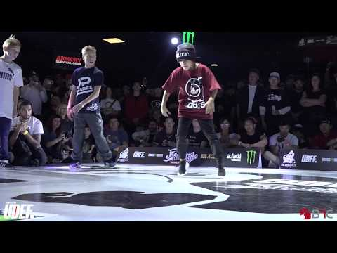 Angry Boy/Grom Vs Babalu/Ricky Jr - Kids (Youth) Semis - Freestyle Session 2018 - Pro Breaking Tour