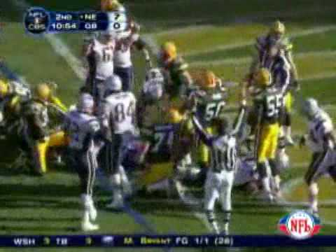 2006 Patriots @ Packers Week 11 HIGHLIGHTS