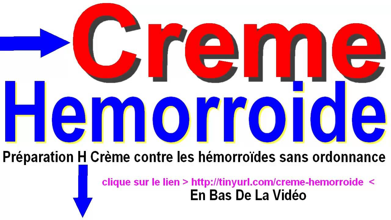creme hemorroide - YouTube
