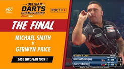 Price v Smith | Belgian Darts Championship Final