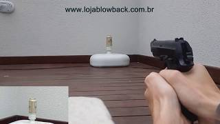 Pistola airsoft taurus PT92 AF ABS | Loja Blowback | Cybergun