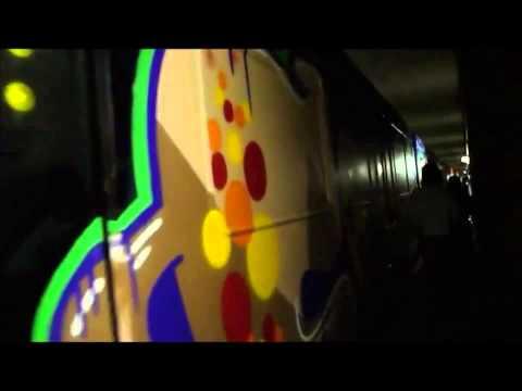 Graffiti Train Action - Vagabondz - Never Ending Interrail - Dortmund/Germany [HD]