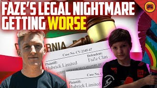 FaZe Clan Sued AGAIN for Theft and Being Asked For Millions