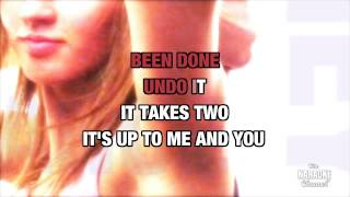 Heavy Cross in the style of Gossip | Karaoke with Lyrics