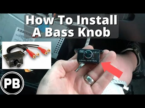how to add a universal subwoofer bass knob to any amplifier youtube rh youtube com  bass control knob wiring diagram
