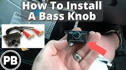 How to add a Universal Subwoofer Bass Knob to any Amplifier